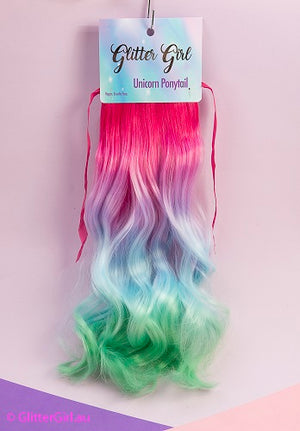 Dazzle Delight Unicorn Ponytail Bundle