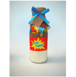 Super Hero Themed Cookie Mix Party Favour