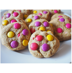Super Hero Pink Themed Cookie Mix Party Favour