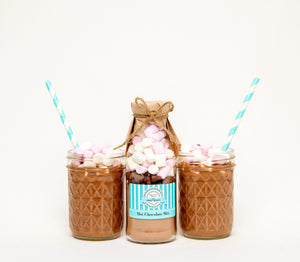 Chocolate Drink Mix Party Favours