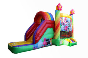 Trolls jumping castle