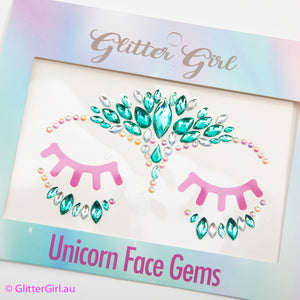 Unicorn Face Gems - Dazzle Delight