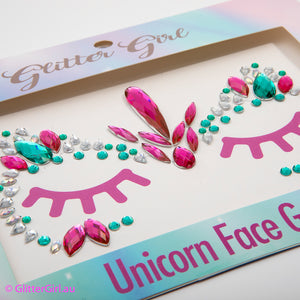 Unicorn Face Gems - Unicorn Power