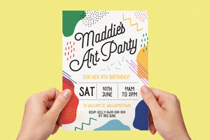 Invitation - Art Party