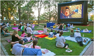 Outdoor Movie Night 4m