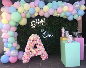 Floral Letters for Hire