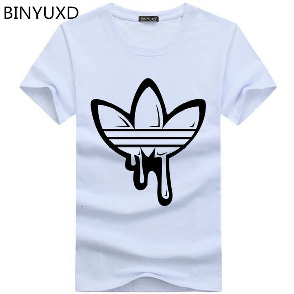 a03205a0 2018 New Summer Cotton Funny T Shirts Short sleeves T-shirt Men Fashion  Tide brand