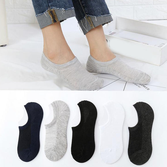 a95dbef3716c8 Womail Man and Women fashion socks Unisex Pure Color Cotton Slippers Short  1Pair Ankle Socks Casual