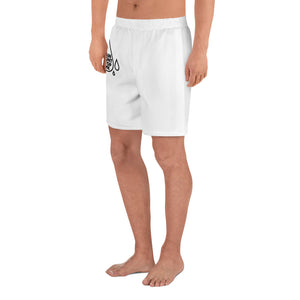 Rain Won't Stop Me Men's Athletic Long Shorts