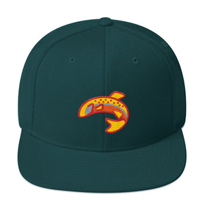 Fish Hunter snapback Hat