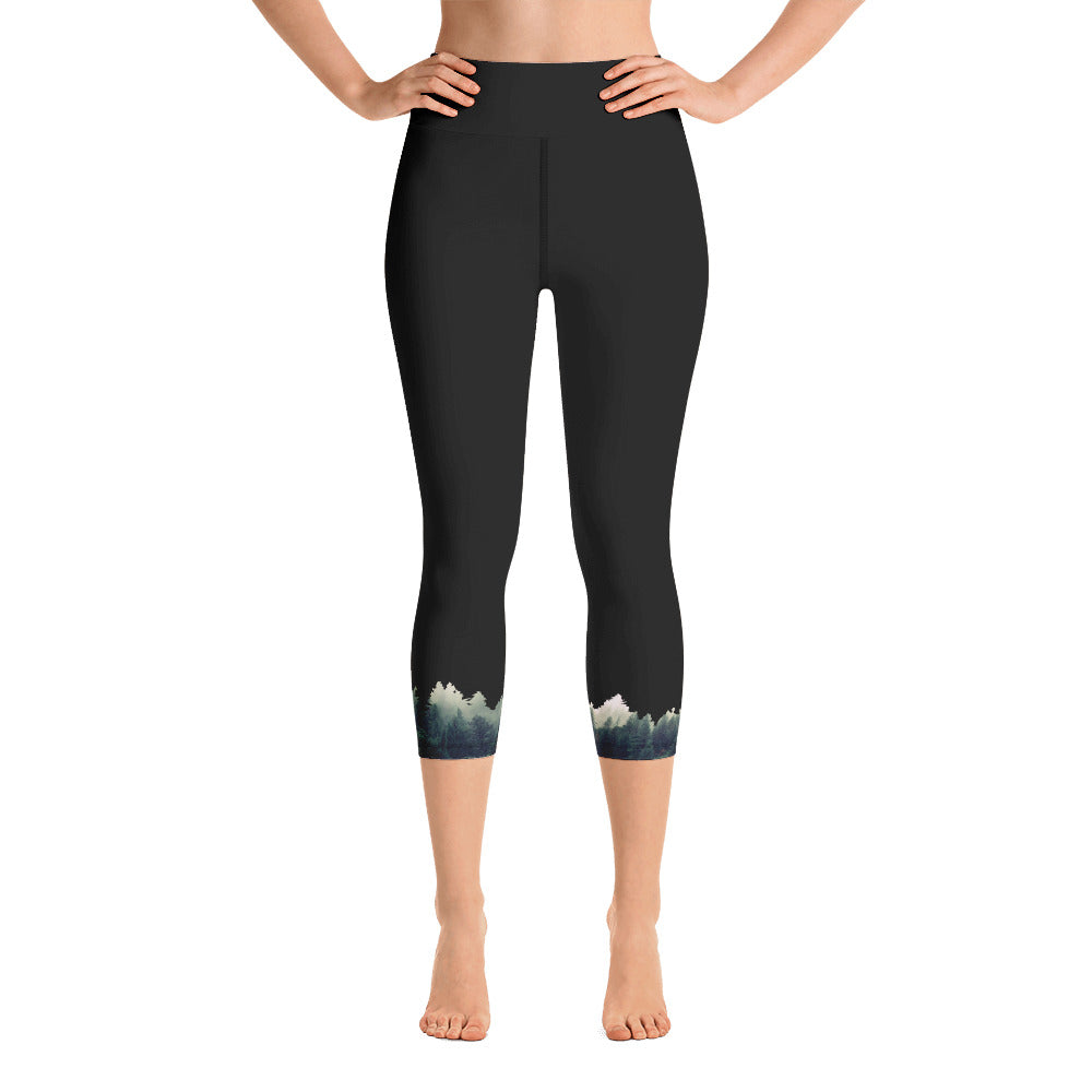 Treeline Yoga Capri Leggings