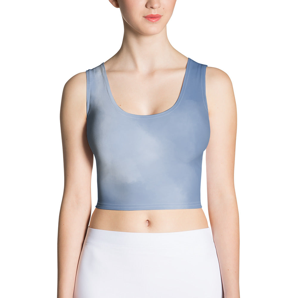 Watercolor Active Crop Top