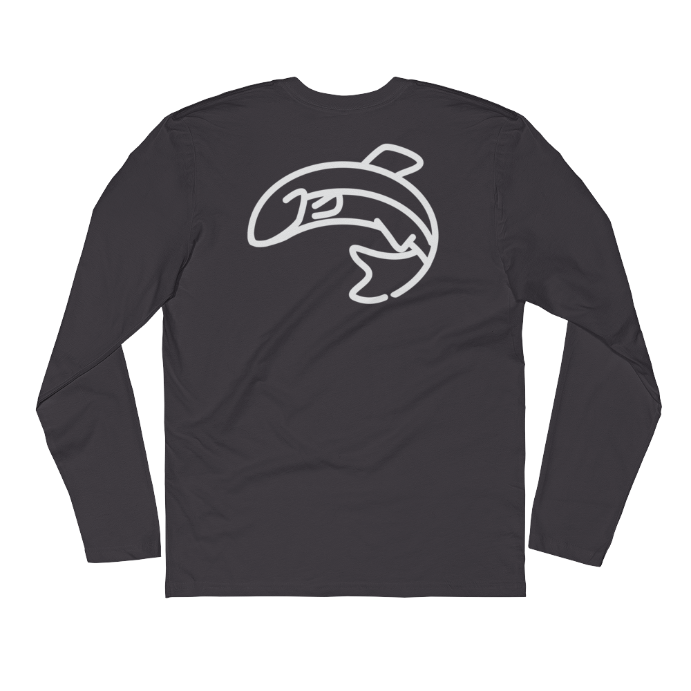 TroutLife Long Sleeve Fitted Crew