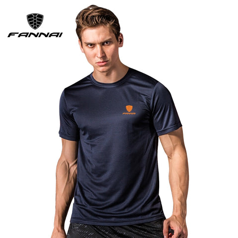 Sport Shirt Men Tops Tees Running Shirts Mens Gym Sports  T-Shirts Fashion3K