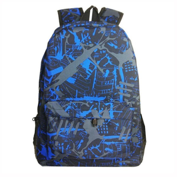 Noctilucent Luminous Glow in The Dark School Bag-Fashion3K