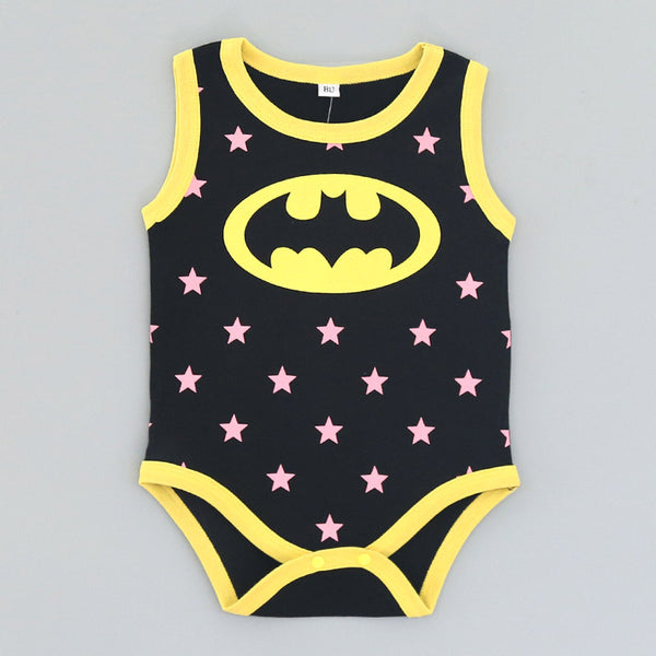 Summer Newborn Baby Girl Clothes Cartoon Baby Boy Rompers Spiderman Batman Unisex Baby Rompers Cartoon Animal Clothing Set-Fashion3K