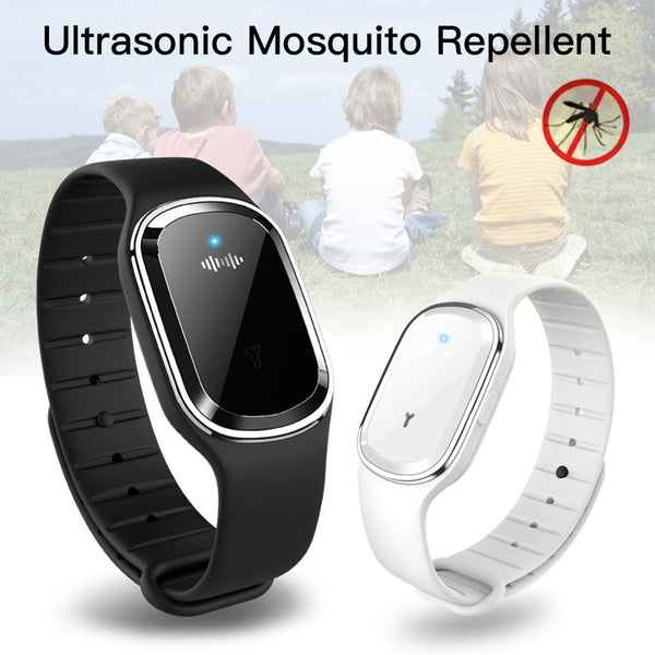 Ultrasonic Anti Mosquito Insect Pest Bugs Repellent Repeller Wrist Bracelet Fashion3K