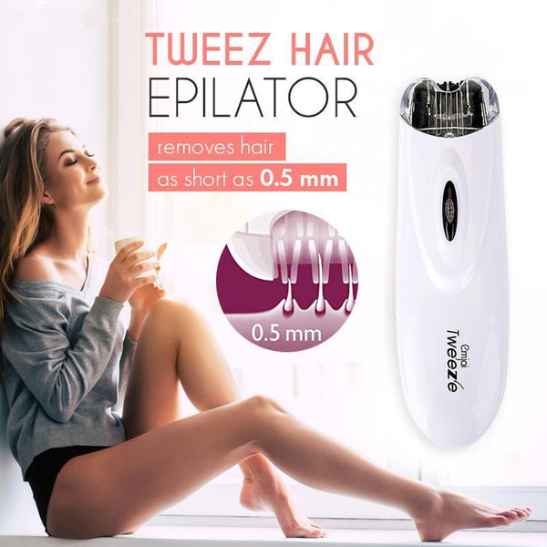 Convenient Safe Womens Girls Epilator Quick Hair Removal SALE-Fashion3K