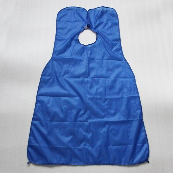 120x80cm Man Bathroom Apron Black Beard Apron Hair Shave Apron for Man Waterproof Floral Cloth Household Cleaning Protecter-Fashion3K