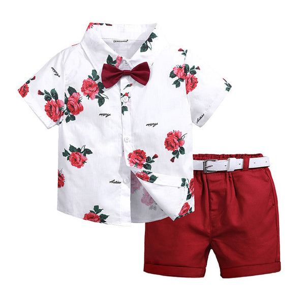Boys Clothes Sets Summer Toddler Boy Sport Suits Children Clothing Costume For Kids Fashion3K