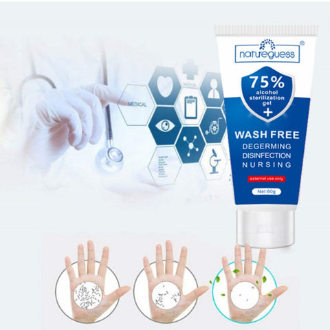 Antibacterial Hand Sanitizer Moisturizing Disposable Gel Disinfectant-Fashion3K