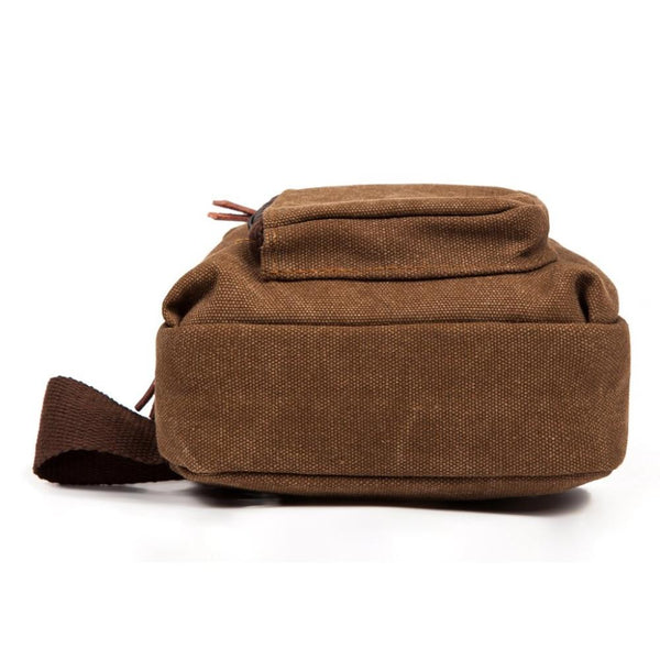 Men Canvas Messenger Bags Casual Travel Military Bag-Fashion3K