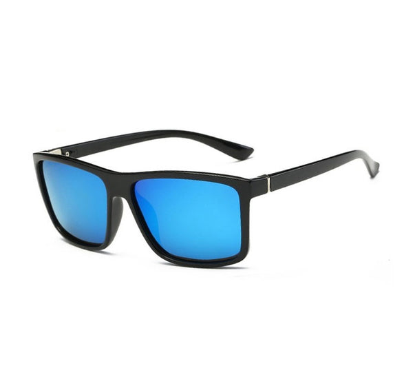 Sunglasses men Polarized Square sunglasses Brand Design UV400 protection Shades Sunglasses-Fashion3K