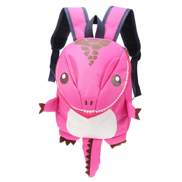 3D Dinosaur Waterproof Backpack For Boys Girls Children-Fashion3K