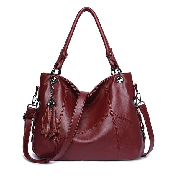 2020 Womens Leather Messenger Designer Crossbody Shoulder Handbags-Fashion3K
