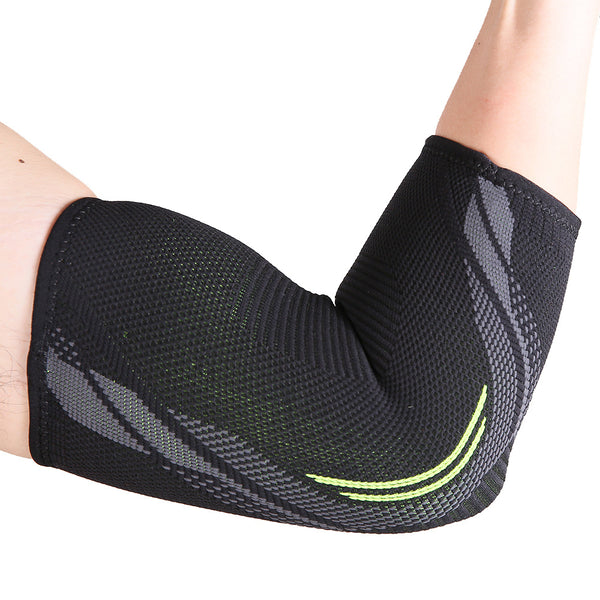 1 PCS Elbow Brace Compression Support Elbow Sleeve Pad for Tendonitis Tennis Basketball Volleyball Elbow Protector Reduce Pain-Fashion3K