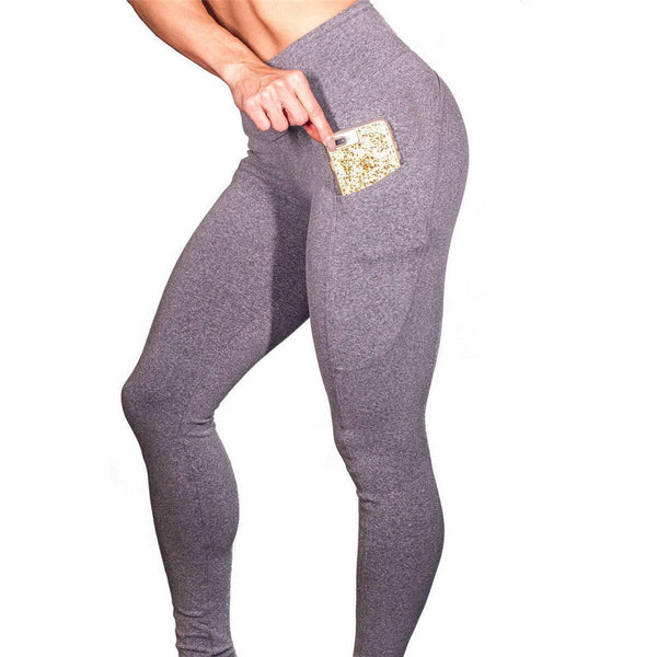 Sale & Clearance Women's High Waist Leggings with Useful Pocket-Fashion3K