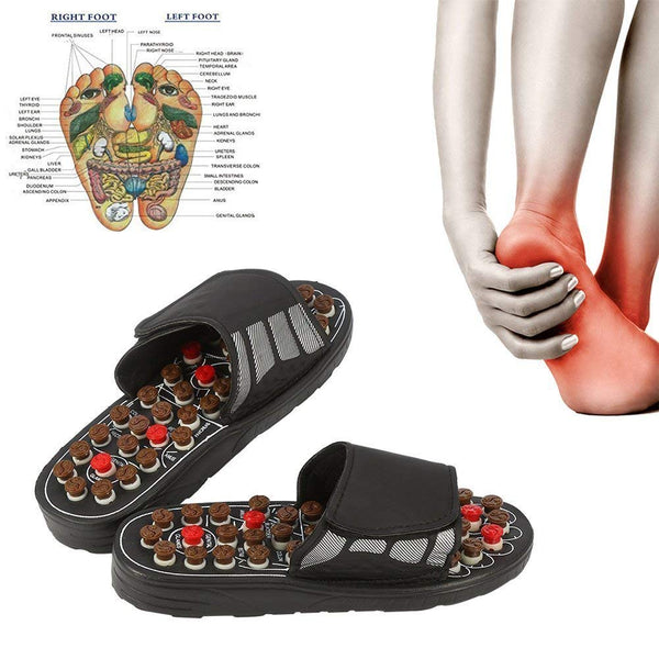 These Healing Therapeutic Acupuncture Sandals Initiate Foot Reflexology-Fashion3K