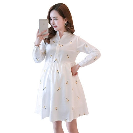 Maternity Comfortable Dress for Pregnant Women - Maternity & Pregnancy Clothes-Fashion3K