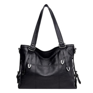 Fashionable Women PU Leather Office Shoulder Handbags Discounted Price Fashion3K