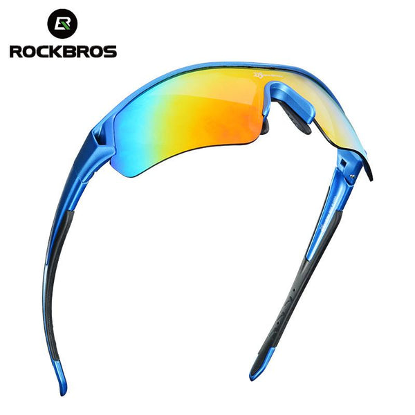 Polarized Sports Sunglasses UV400 Bicycle Bike Sunglasses Myopia Frame Ciclismo 3 Lenses-Fashion3K