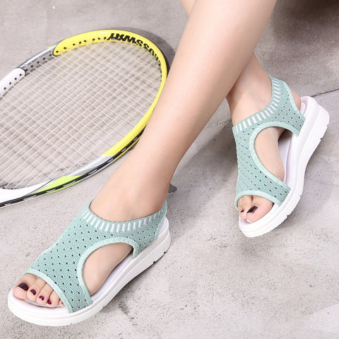 Platform Sandals Shoes Woman Female Zapatos De Mujer Sandalia Women Harajuku Elastic Sandalias Mujer Fashion3K