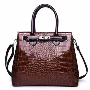 Womens Vintage Leather Tote Tassel Designer Crossbody Shoulder HandBag-Fashion3K