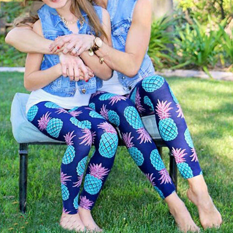 Trendy and comfortable Matching Leggings for Mom And Daughter-Fashion3K