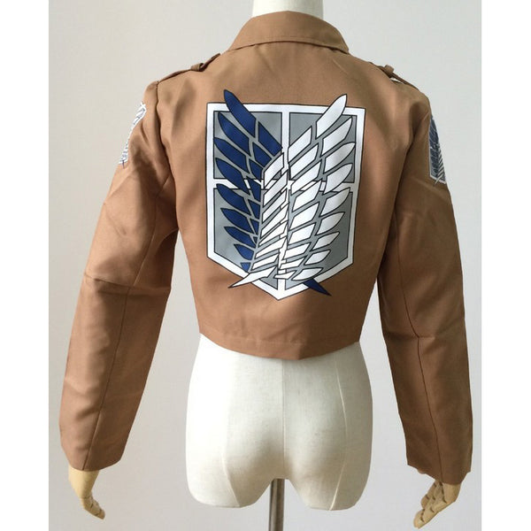 Attack on Titan Print Women Jacket ! ON SALE-Fashion3K