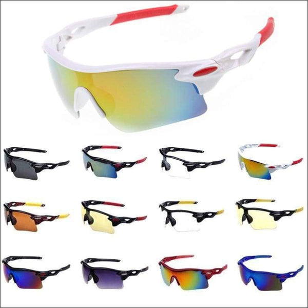 Sports Multipurpose Driving Fishing Golf Baseball Sunglasses-Fashion3K