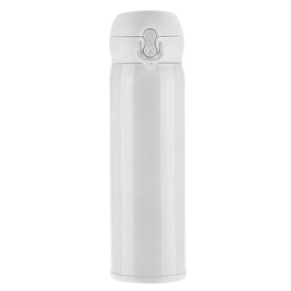 450ml School Travel Thermos Stainless Steel Double Wall Thermal Vacuum Tea Coffee Water Bottle Fashion3K