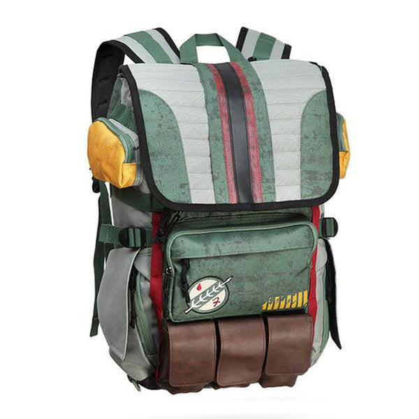 Star Wars Boba Fett Laptop Backpack for Teenagers Men Boys-Fashion3K