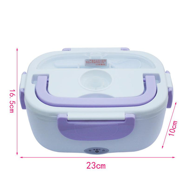 220V/110V Portable Childrens Electric Heating Lunch Box Graded Food Container Fashion3K