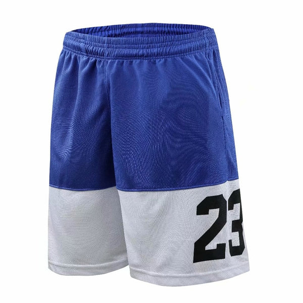 Basketball Shorts Loose Beach Shorts Gym Training Sports Short Trousers Men's Quick Dry Running Shorts-Fashion3K