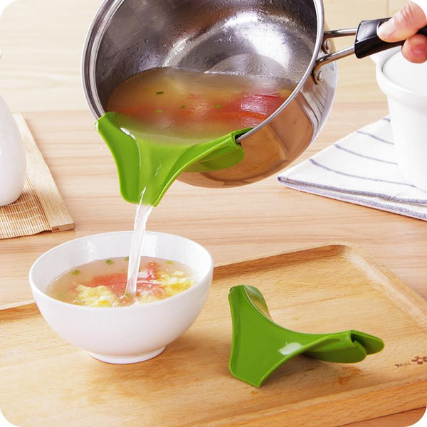 Avoid Food Wastage & Spilling ! Buy Slip-On Pouring Spout.-Fashion3K