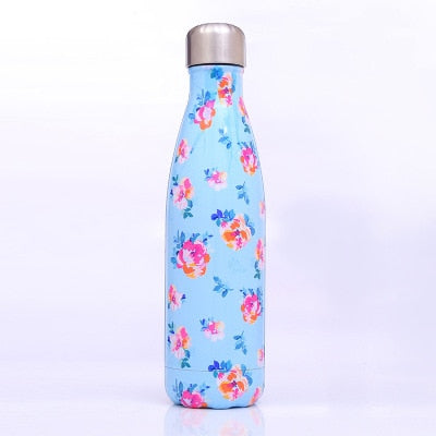 304 Stainless Steel Vacuum Flask Creative Thermal Insulated Thermos Water Bottles 500ml Fashion3K