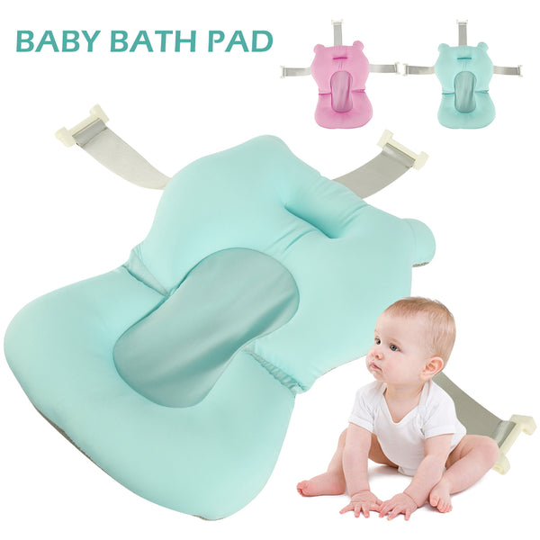 Foldable Anti-Slip Soft Bath Tub Seat For Newborn Baby-Fashion3K