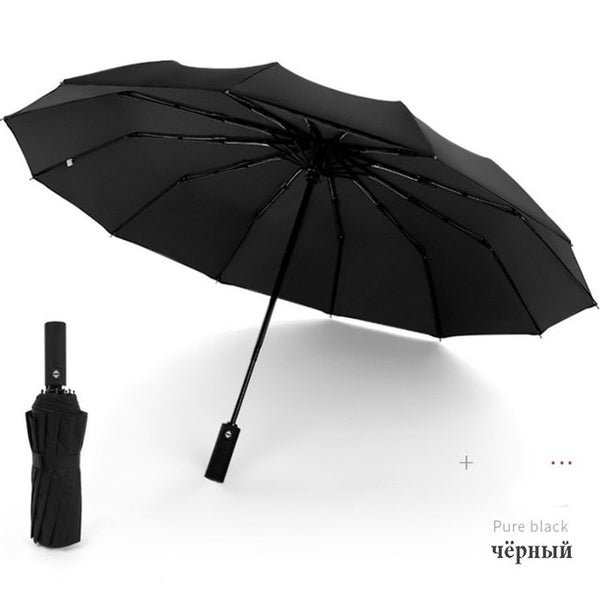 Windproof Double Folding Umbrella Unisex-Fashion3K