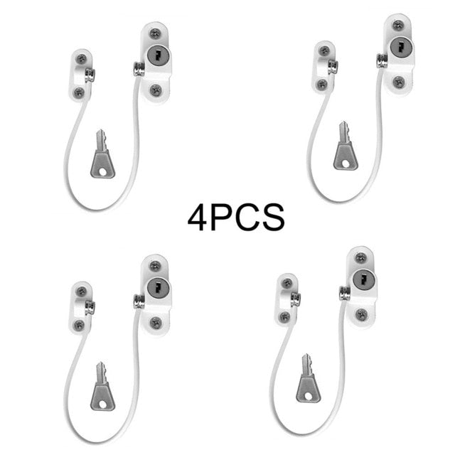 4/8Pcs Window Locks For Small Children Protection!Hurry Buy Now-Fashion3K