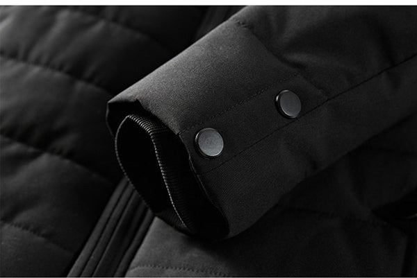 2020 Men Winter Jacket Parkas High Quality Cotton Padded Wadded Thick Warm Outerwear Casual Coats-Fashion3K